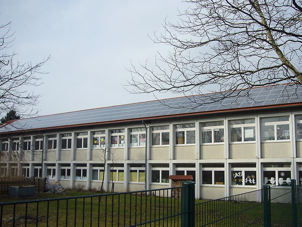 PV-Anlage Janusz-Korczak-Schule (Foto: Ezra Kurth)