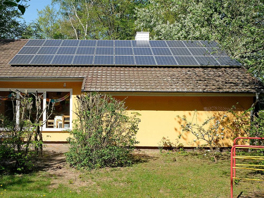 PV-Anlage Kinderhaus-KiTa Okerweg (Foto: Christoph Mischke)